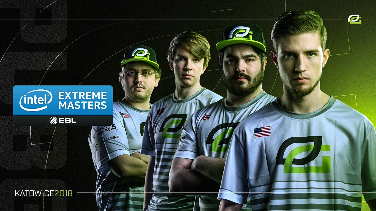 It's Championship Sunday at #IEMKatowice as #OpTicPUBG enters the last 4 matches at the front of the pack. You won't want to miss this 👊🏽 Watch: https://t.co/HRiJxfEjoY Get that #Greenwall in chat to show your pride! 👏🏽👏🏽👏🏽