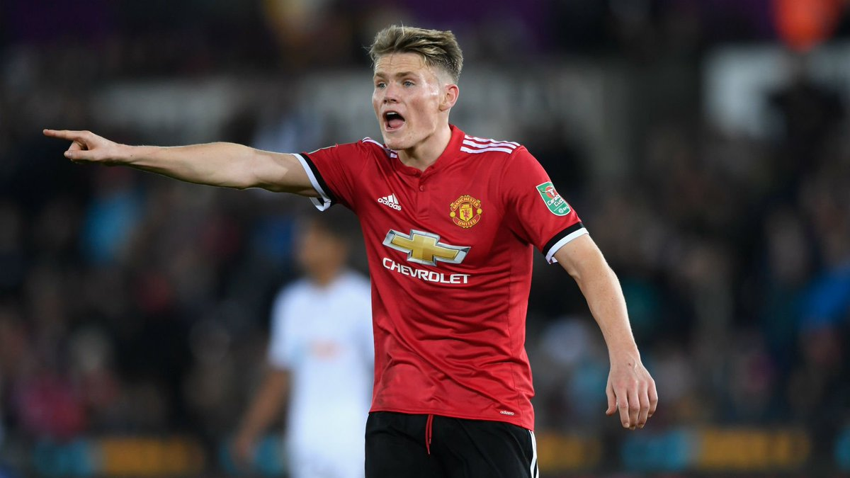 Maillot Domicile Manchester United Scott McTominay