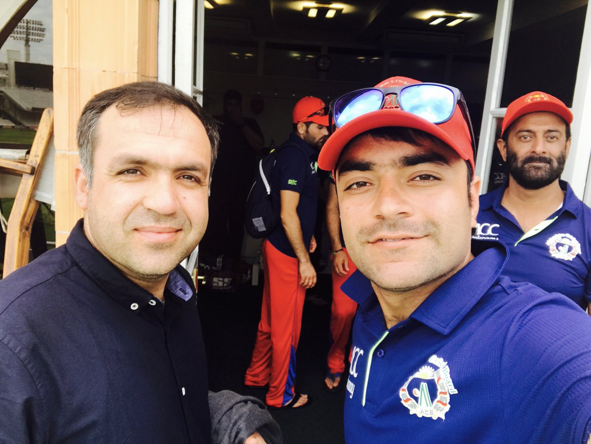 Congratulations to our superstar @rashidkhan_19 for becoming the No. 1 bowler in ICC T20I rankings. There is a lot more to come for him and Afghanistan in the cricketing world.@rashidkhan_19 @ICC @SadatNaderi @EklilHakimi