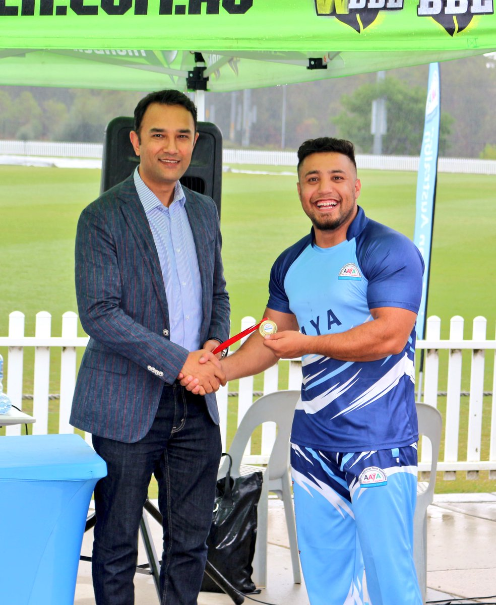 Ambassador @WahidWaissi met the newly established Afghan Australian Youth Association cricket team scored high among @nswpolice @AusFedPolice cricket teams in #Sydney Great Initiative! Thanks to @ThunderWBBL for all supports.