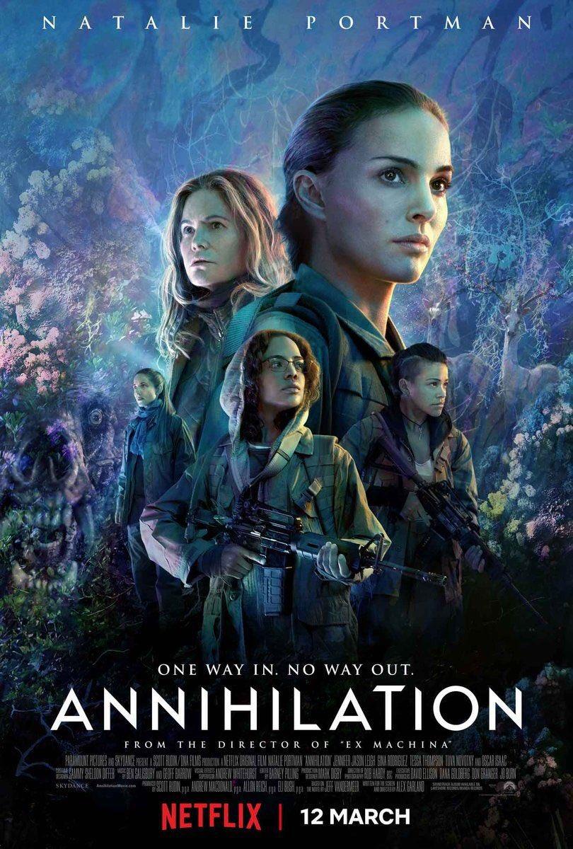 #Annihilation poster.
