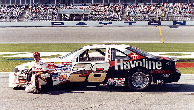 Happy Birthday to the late Davey Allison, born on this day in 1961