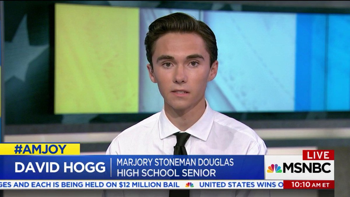 Florida school shooting survivor to critics and conspiracy theorists: 'We will outlive you' https://t.co/LxWu1LJHlt