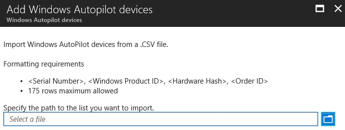 Peter van der woude pvanderwoude twitter its the little things that make life so much easier its now possible to import windows autopilot devices directly into microsoft intune fandeluxe Choice Image