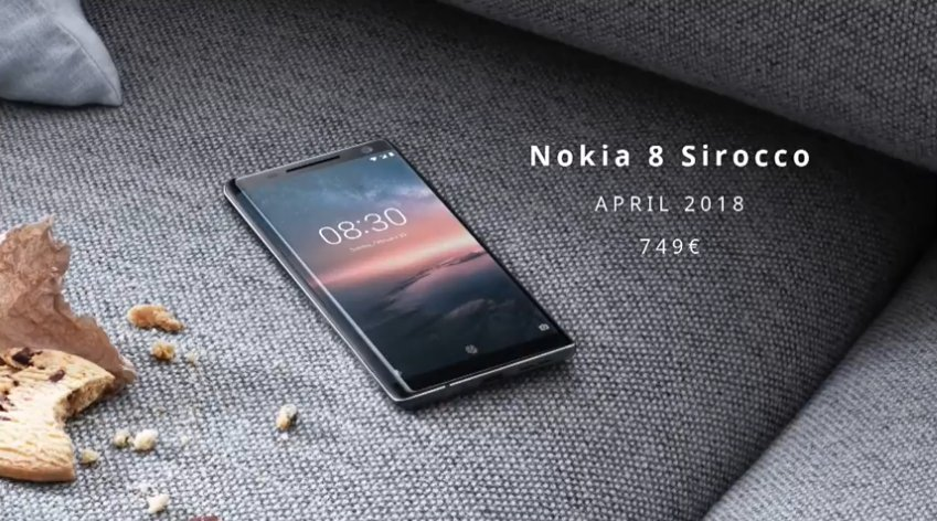 Nokia 8 Sirocco Features, Specifications, Price and Release Date
