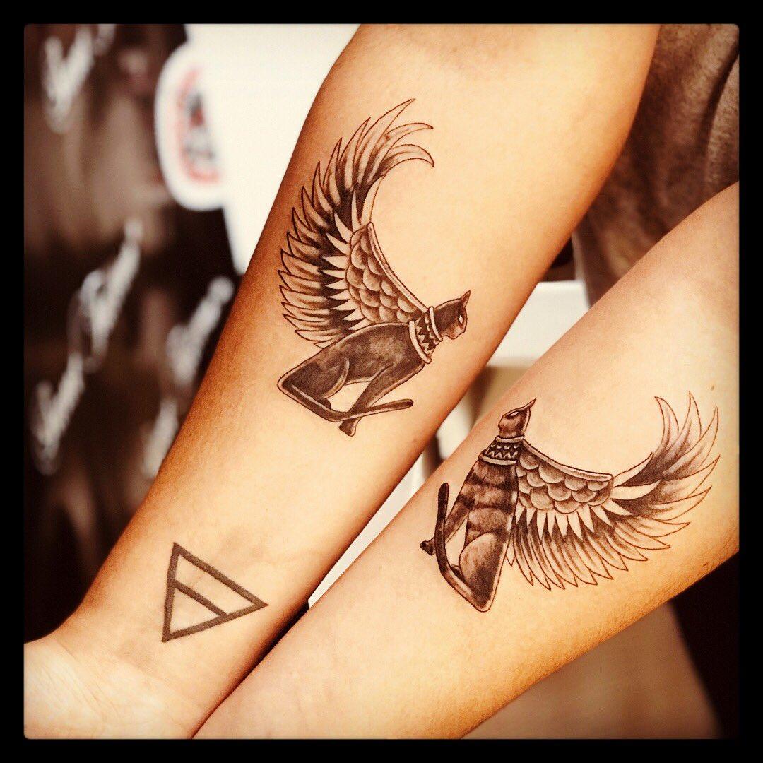 Juches Ink On Twitter Gatos Egipcios Tattoo Gatostattoo