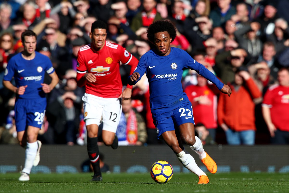 Full-time: Manchester United 2-1 Chelsea. #MUNCHE