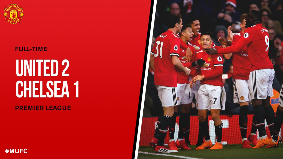 Chấm điểm kết quả Manchester United 2-1 Chelsea