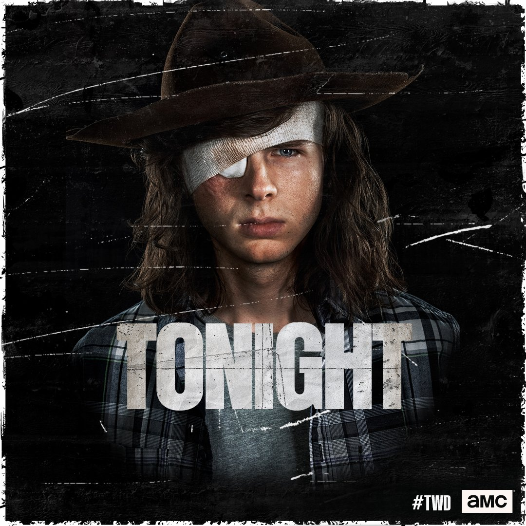 Tonight. End this war. For Carl. #TWD