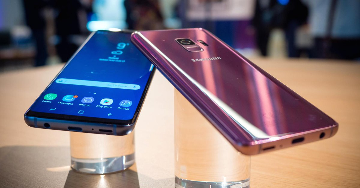 Samsung launches the Galaxy S9 smartphone to take on Apple's iPhone X https://t.co/bCb7WB1DGP