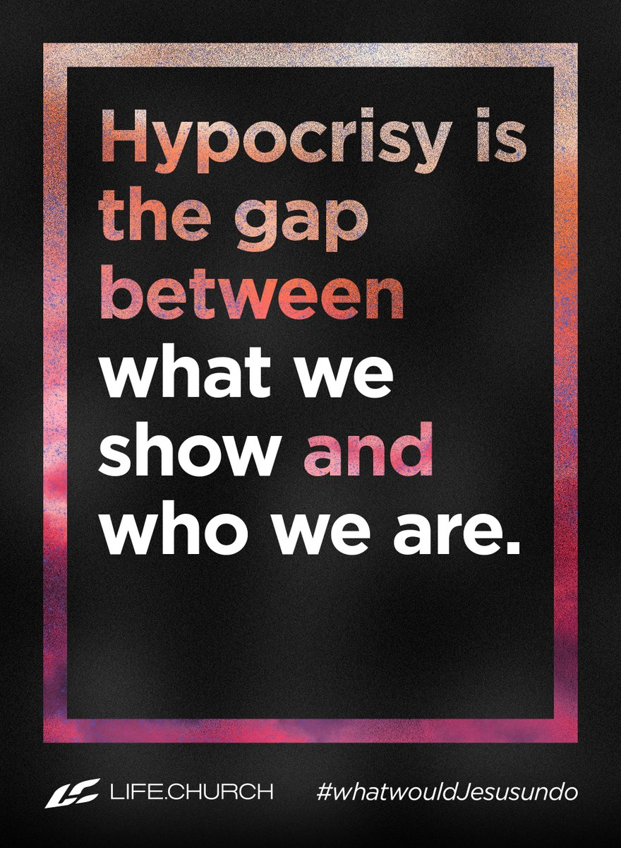 What is hypocrisy