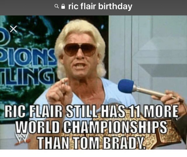 happy Birthday to your Father Ric Flair!!!
