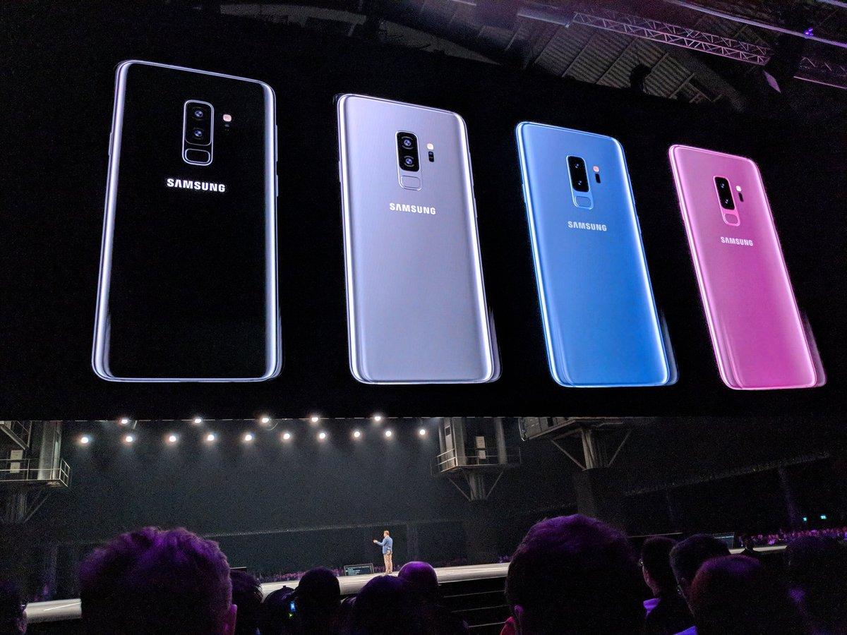 ألوان هاتفَي جالكسي S9 وS9 بلس الجديدة:...