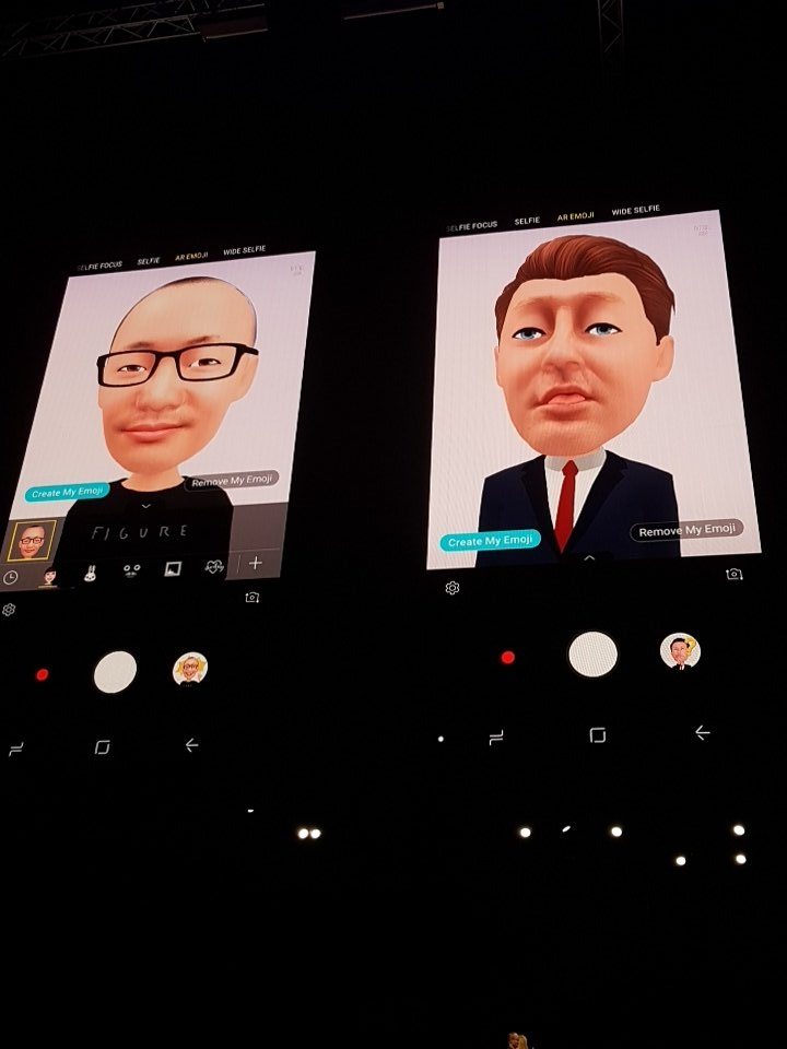 #GalaxyS9 has a killer feature. Personalised Emojis based on your face. Super accurate and really well executed. Lots of cool things you can do with it.