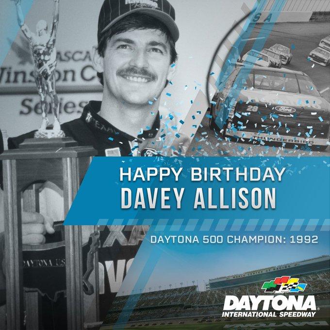 Happy Birthday to 1992 Champion, the late Davey Allison.