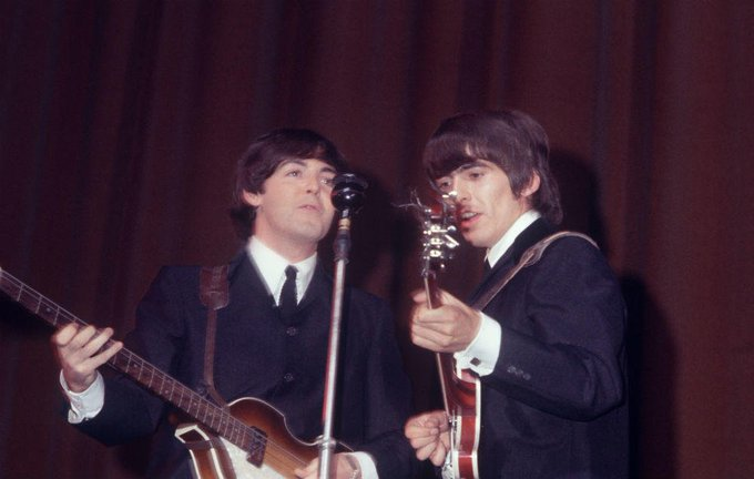 Sir Paul McCartney wishes late bandmate George Harrison a happy 75th Birthday