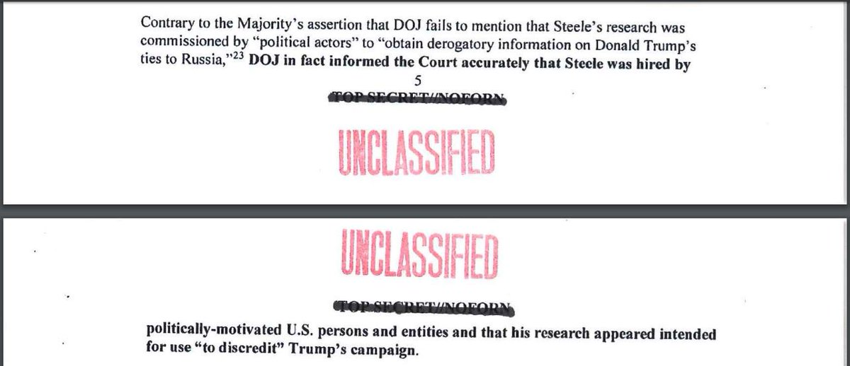 So what did the FBI tell the FISA court about Christopher Steele?  https://t.co/bGYof9BrPb