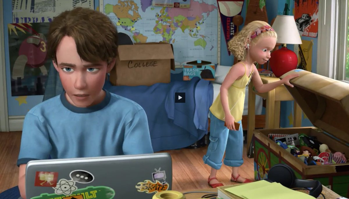 Andy Toy Story 3 : Kasper wargula on twitter quot just watched toy story with
