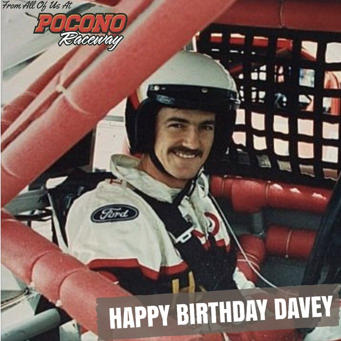 Remessage to help us wish the late Davey Allison a very Happy Birthday