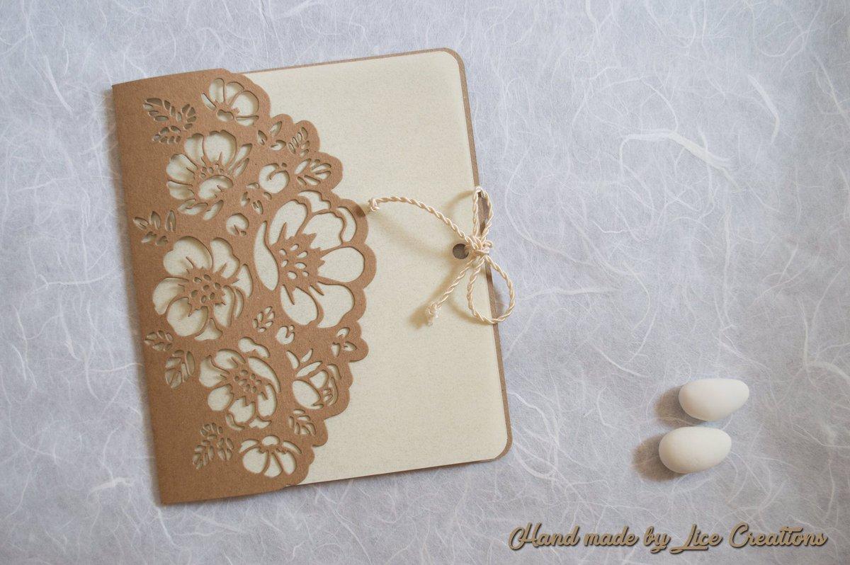 Partecipazioni Matrimonio Carta Kraft.Nozzehandmade Hashtag On Twitter