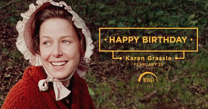 Happy Birthday to Karen Grassle of watch it weekdays at 5p ET.