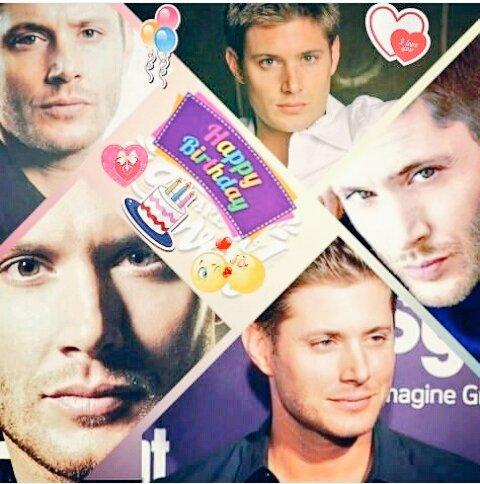 Happy birthday my king beautiful Jensen Ackles  I love you