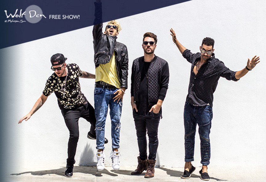 """""""Liquid Dreams"""" and """"All or Nothing"""" singers @OTownOfficial play the #WolfDen on 3/2! https://t.co/c8rcaqTgqJ"""