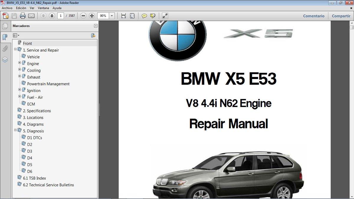 Bmwe53 Photos And Hastag Bmw 4 V8 Engine Diagram X5 Chassis E53 Motor N62 44 Manual De Taller En Formato Pdf Manualestaller2000gmailcom Bmwx5 Pictwittercom Sag3r6rvmm
