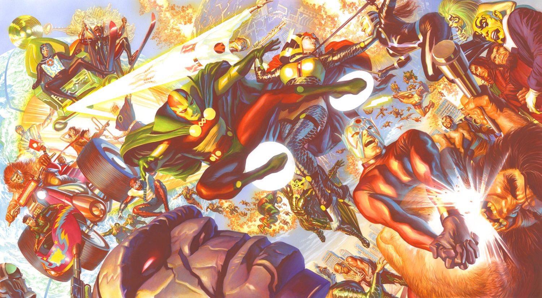 New Genesis vs Apokolips (New Gods) by Alex Ross (Comic Book writer/artist)  : DCcomics