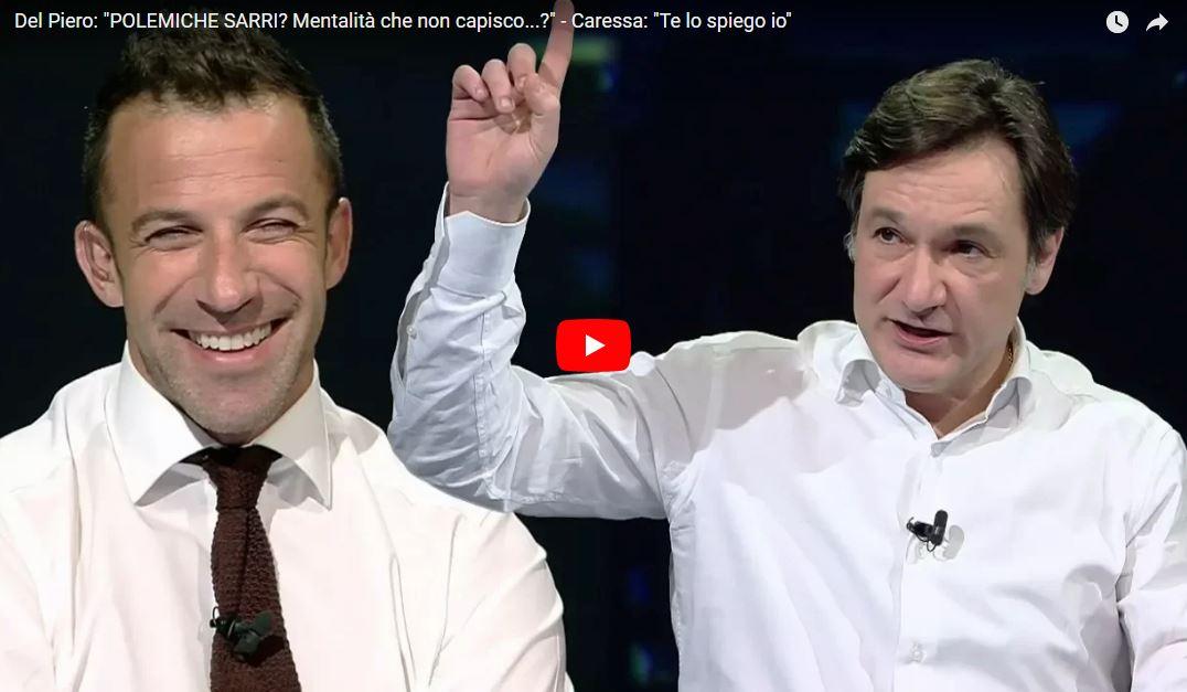 VIDEO #SkyCalcioClub - #Bergomi: Rinvio con lAtalanta penalizza la #Juve - #DelPiero: Non capisco perché #Sarri torni indietro con la mentalità - #Caressa: Te lo spiego io... ► ow.ly/ZGbk30iBFce