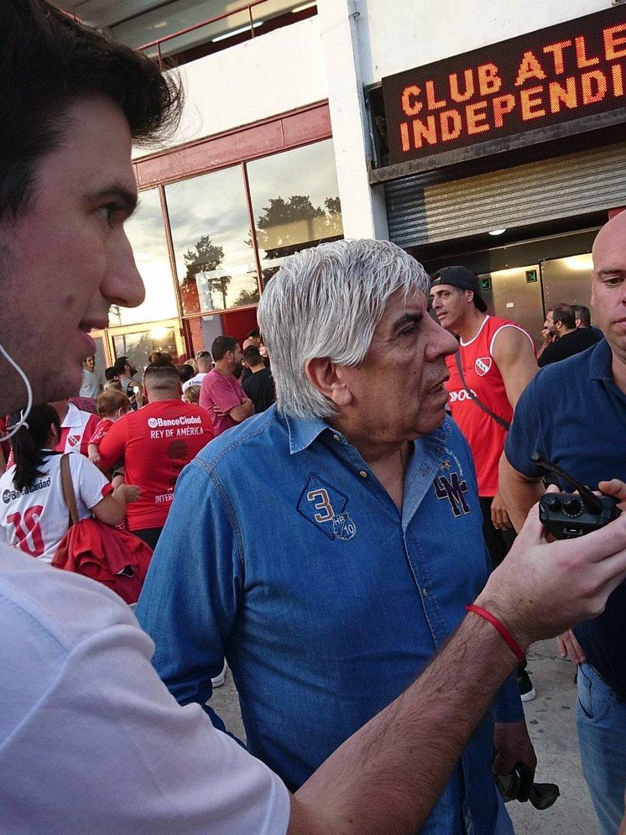 """Moyano: """"Es el reconocimiento a un Independiente recuperando su historia"""""""