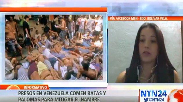 #VIDEO  'Presos venezolanos optan por comer ratas y palomas para no morir de hambre': Periodista Pableysa Ostos https://t.co/7aGbfgU0QF