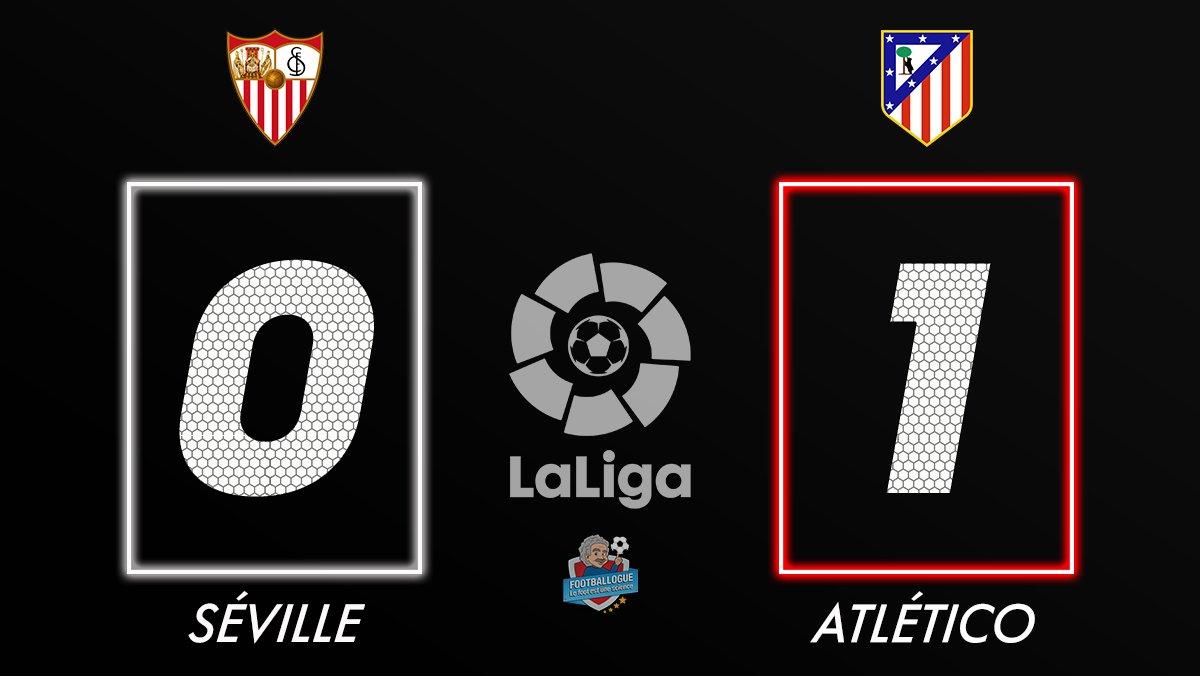 [#LaLiga🇪🇸] FC SEVILLE 0⃣-1⃣ ATL. MADRID  ⚽ BUUUUUUUUT DE COSTA !  #SEVATM