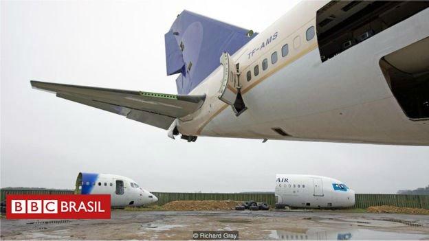 #ArquivoBBC A empresa britânica que transforma restos de aviões em lucro https://t.co/ahcDQUkokw