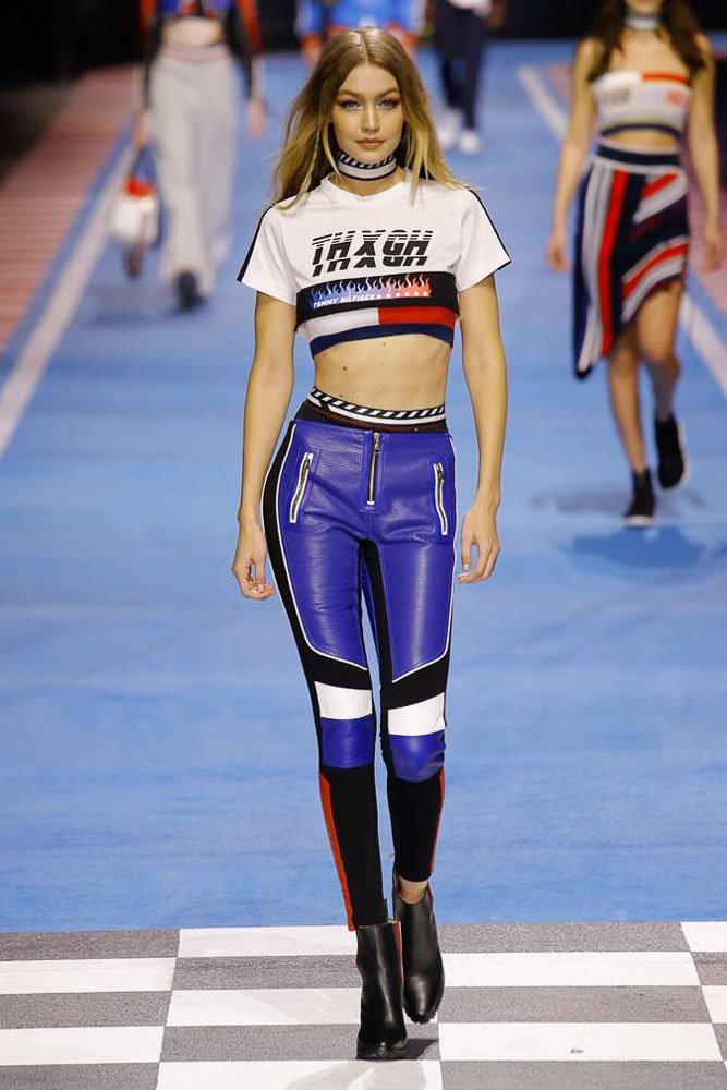 At @TommyHilfiger Spring 2018, the race track is the runway. See every look: https://t.co/A1FrSTwvZ0