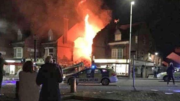 Großbritannien: Schwere Explosion in Leicester https://t.co/WfrFbEQzkz