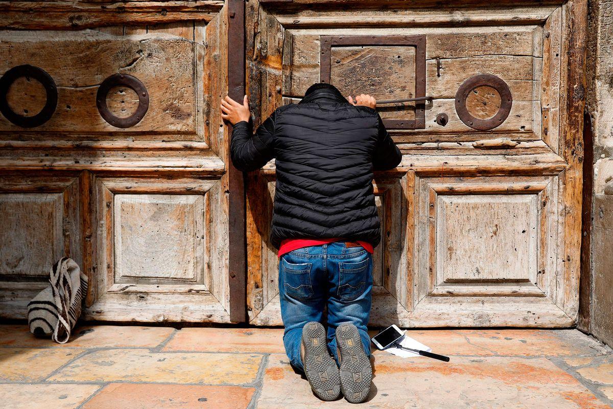 Christianity's holiest site in Jerusalem shut in Israel tax flap https://t.co/FVWpdPlEJw