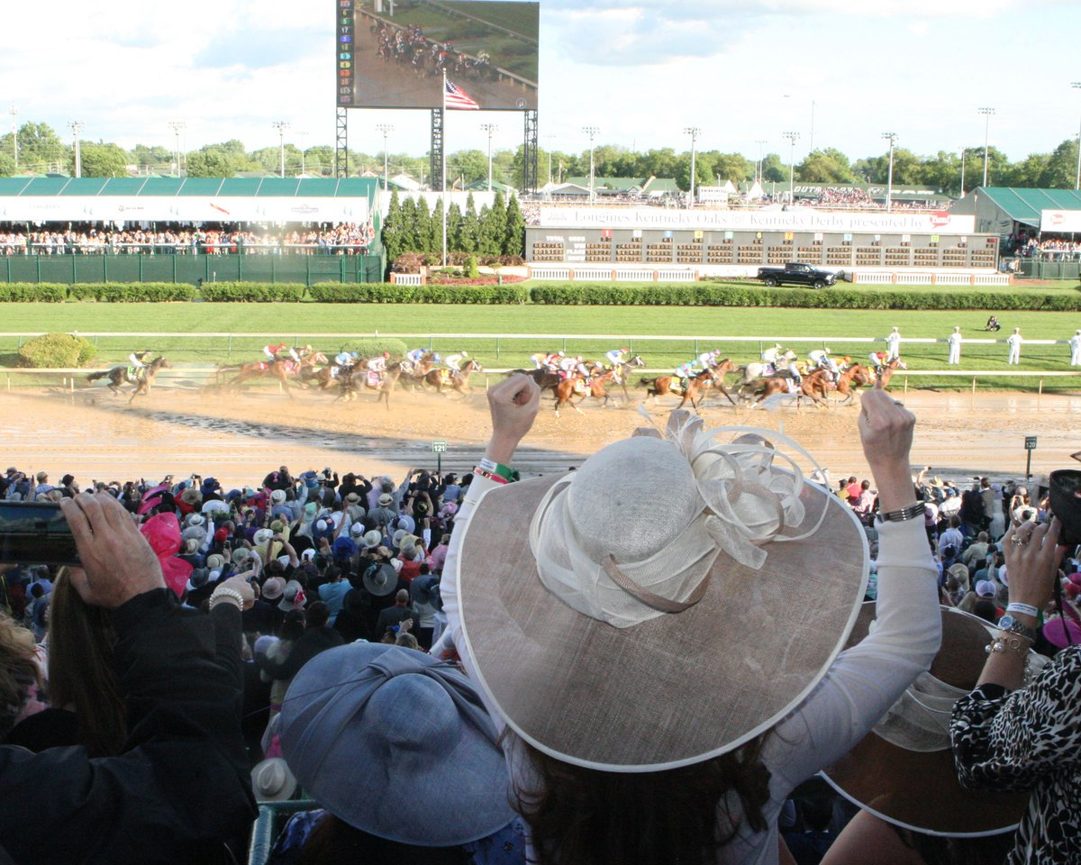 Save $10 off the day of price for Kentucky Derby General Admission Tickets now ➡� bit.ly/2DvhyfQ