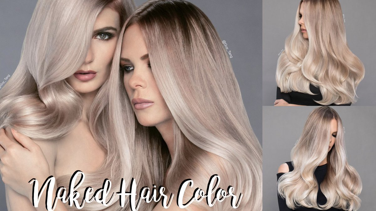 Guy Tang On Twitter Hairbesties Naked Hair Color Youtube