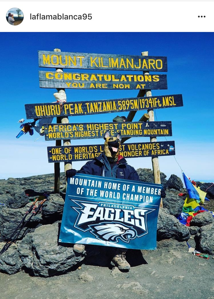 Congrats @JOEL9ONE ! Helluva hike for an...