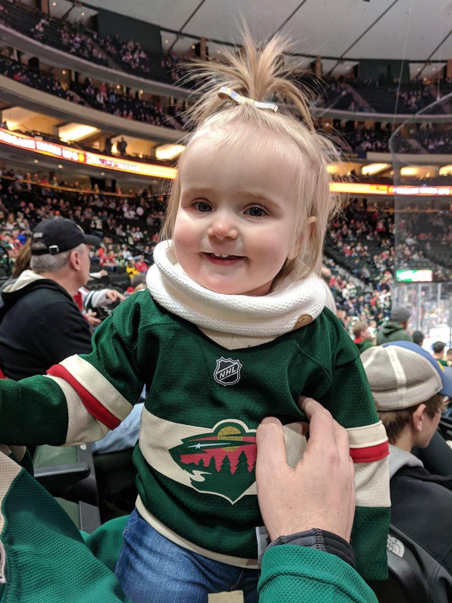 Twitter - Let's go Wild!! #mnwild #livefearlessmn #hockeybaby #charlotteinthecity https://t.co/s09EHdBnc0