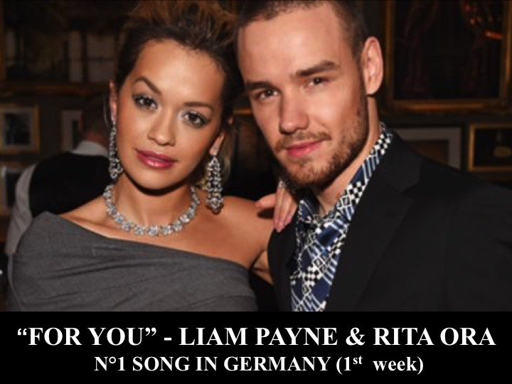 #LiamPayne & #RitaOra's #ForYou from #FiftyShadesFreed is N°1 in Germany!👏1⃣🇩🇪💃🕺🔥🌟 https://t.co/3rJFl4k97z