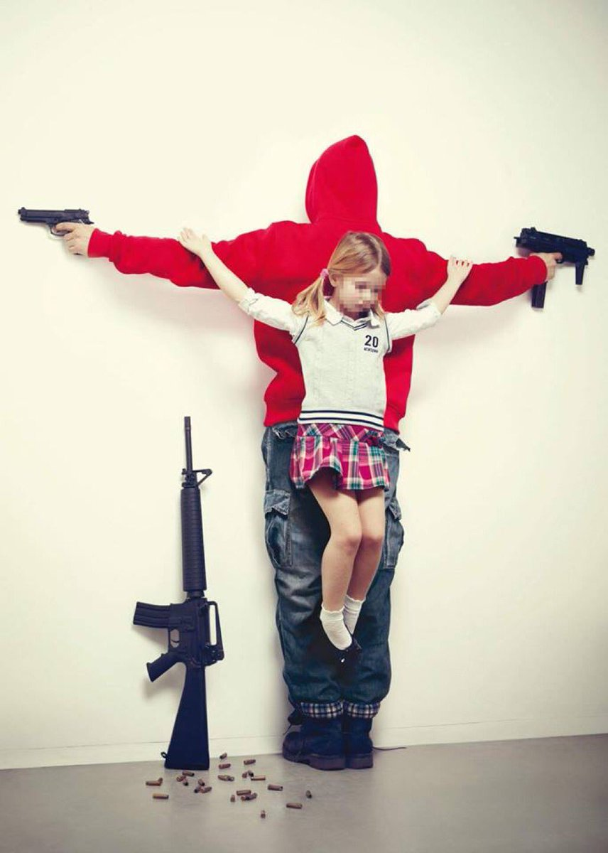 U.S.A., by artist Erik Ravelo  My God. What have we become?  via/@AuthorKimberley