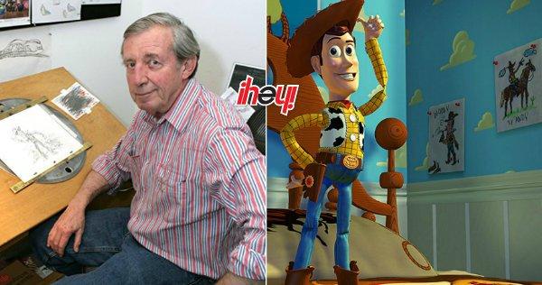 ¡Adiós vaquero! 😢  Murió Bud Luckey, diseñador de Woody y otros personajes de Disney Pixar https://t.co/wJ114cnRgp