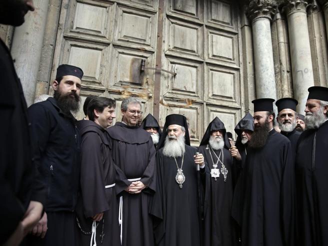 Gerusalemme: chiuso il Santo Sepolcro per protesta contro le tasse  https://t.co/ddQm8AzKI0
