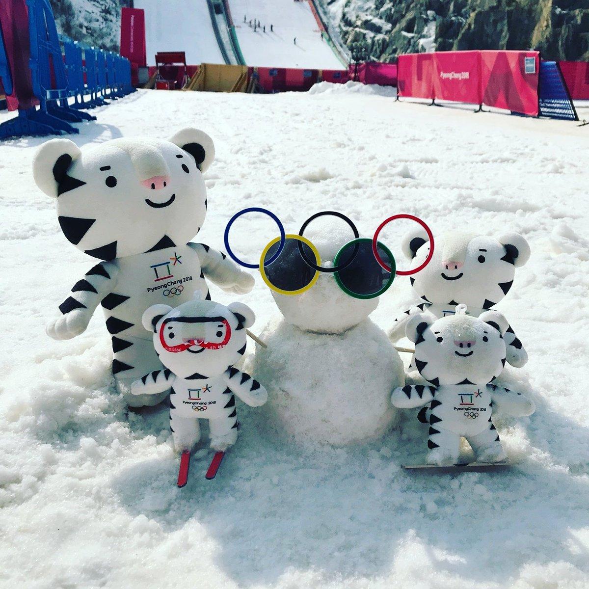 Family time. #Soohorang #PyeongChang2018