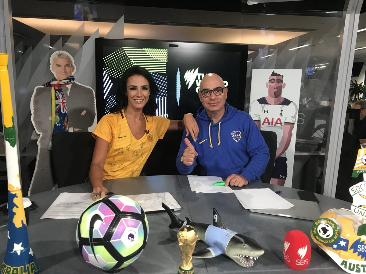 Matildas and Boca represent. Join myself and @Bashola66 now for our weekly FB LIVE session on @TheWorldGame page. A-League, Premier League and a whole lot more to be discussed.