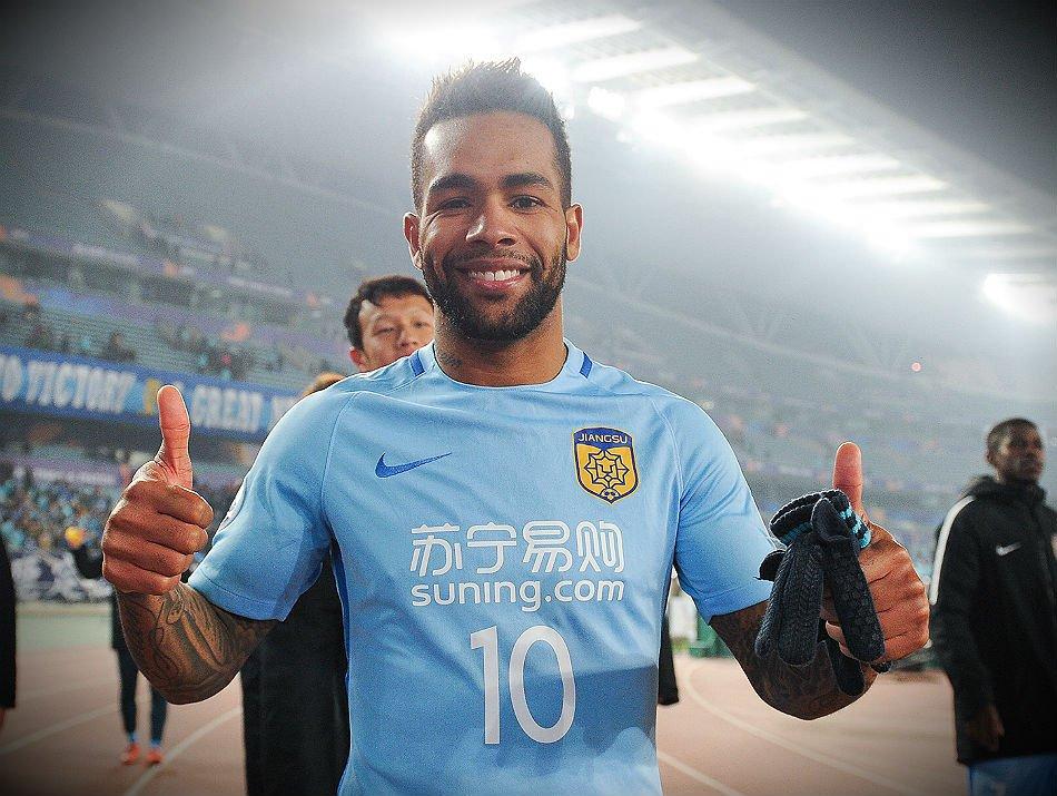 Corinthians still waiting for a reply from Jiangsu Suning about the loan of Alex  Teixeira. ... 6d40239e575d2