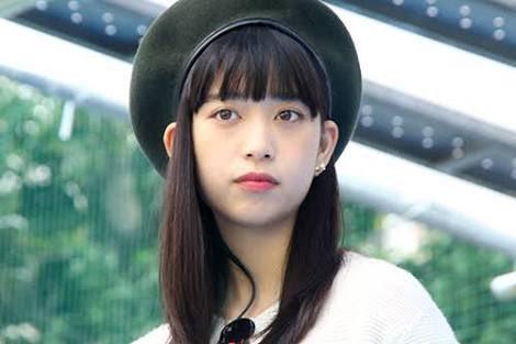 ベレー帽をかぶる森川葵