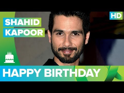 Happy Birthday Shahid Kapoor !!!!! -  The Times24